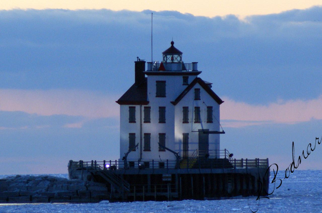 Photo By Robert Bodnar.........................Lorain Lighthouse