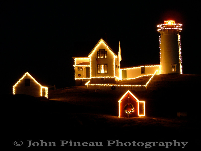 Nubble Light - York, Maine<br /> LH_0039-13_lh