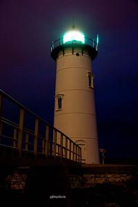 Portsmouth Lighthouse at Sunrise