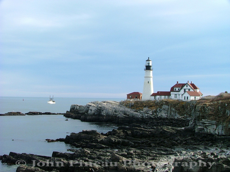 Portland Head Light - Cape Elizabeth, Maine<br /> LH_0005-DSCF0093