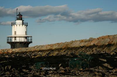 Spring Point Lighthouse, South Portland, Maine