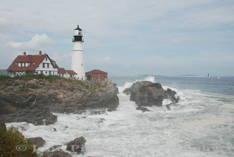 Portland Head Light - Cape Elizabeth, Maine<br /> 20090823-DSC_8327