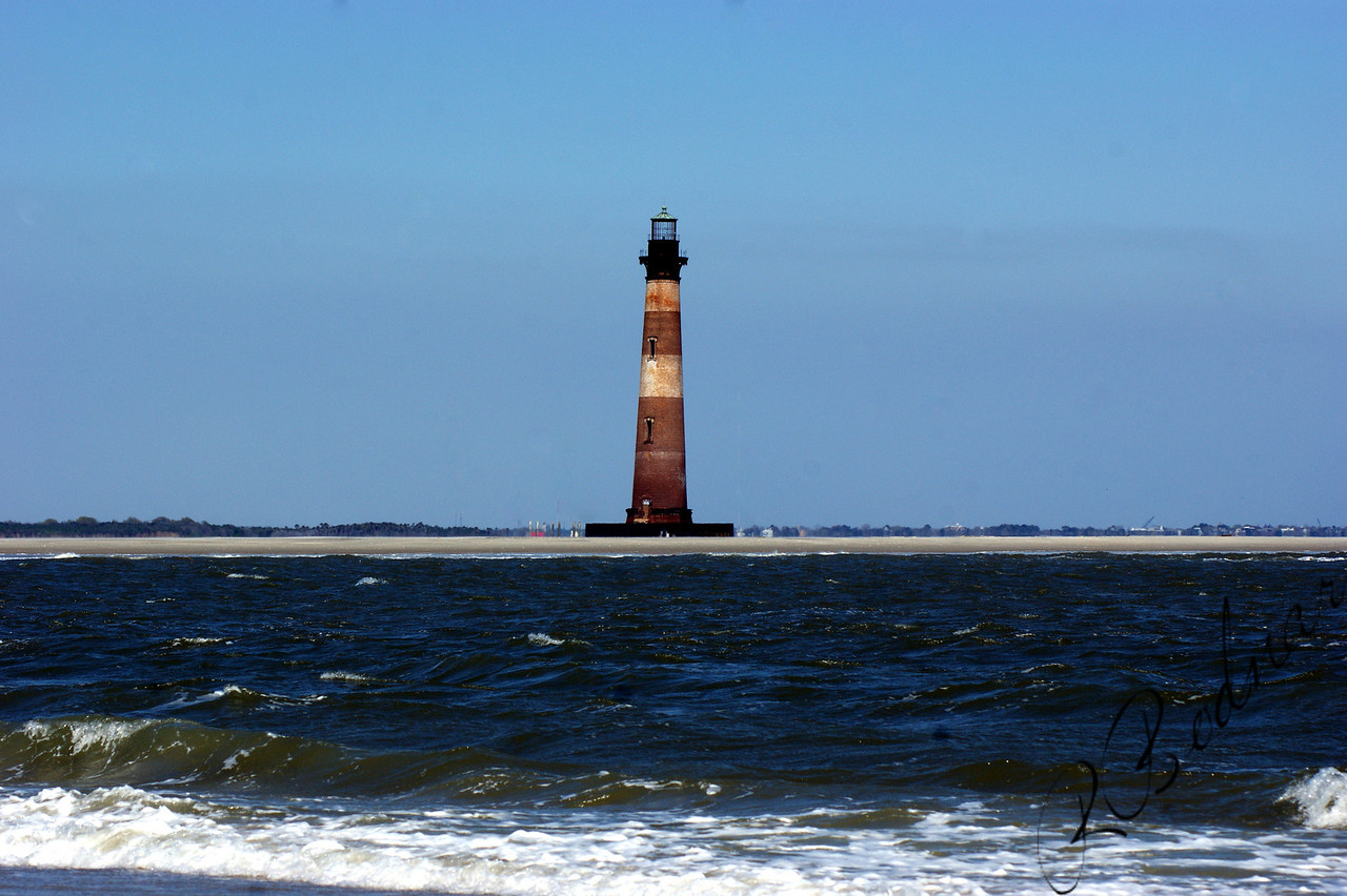 Photo By Robert Bodnar......................................Morris Island Lighthouse