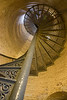 Staircase in Portland Head Lighthouse