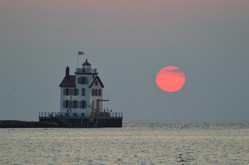 Lorain Harbor Sunset