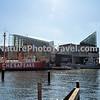 Lightship Chesapeake, Baltimore, MD. Background: National Aquarium in Baltimore, Submarine Torsk and Inner Harbor