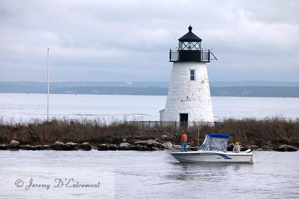 Bird Island Lighthouse, Mattapoisett, Massachusetts