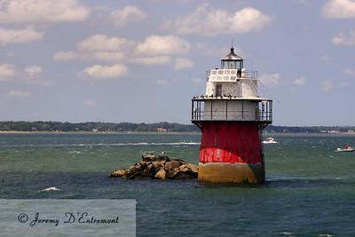Duxbury Pier Lighthouse