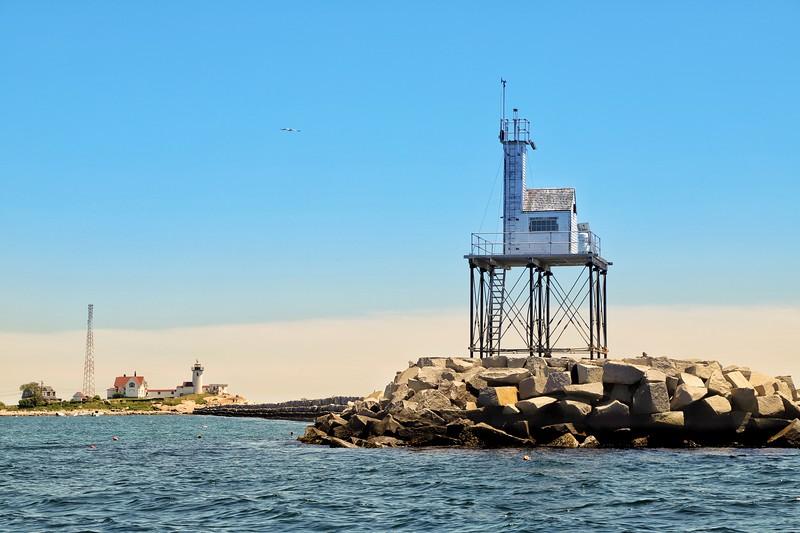 Gloucester Light & Eastern Point Light-Gloucester, MA.