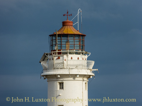 New Brighton Perch Rock Lighthouse, Wirral, Merseyside - May 10, 2020