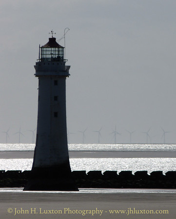 New Brighton Perch Rock Lighthouse, Wirral, Merseyside - May 16, 2015