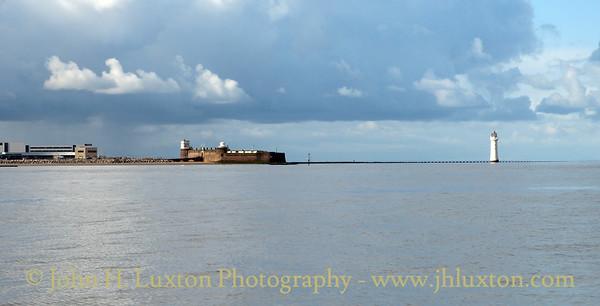 New Brighton Perch Rock Lighthouse, Wirral, Merseyside - October 13, 2012