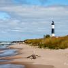 Big Sable Point Lighthouse & Lake Michigan