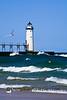 Manistee North Pierhead Lighthouse, Manistee County, Michigan