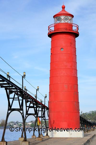 Grand Haven Pierhead Inner Lighthouse, Ottawa County, Michigan
