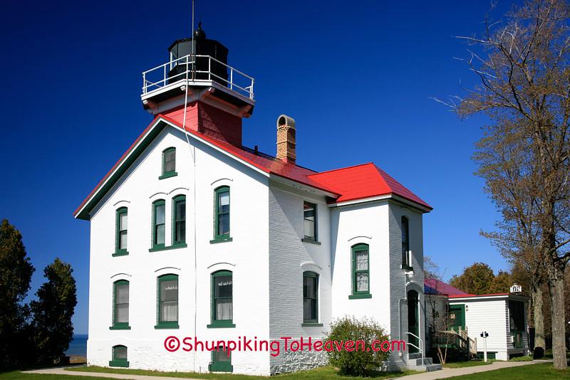 Grand Traverse Lighthouse, Leelanau County, Michigan