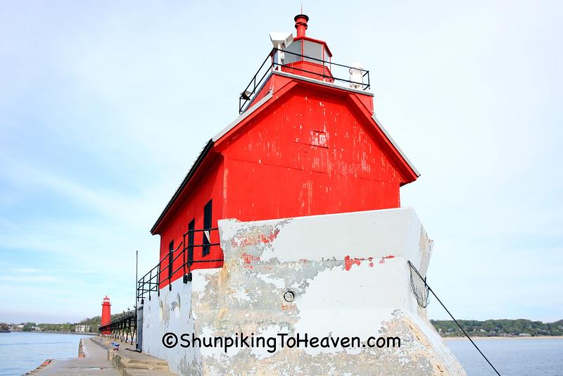Grand Haven South Pierhead Lighthouse, Ottawa County, Michigan