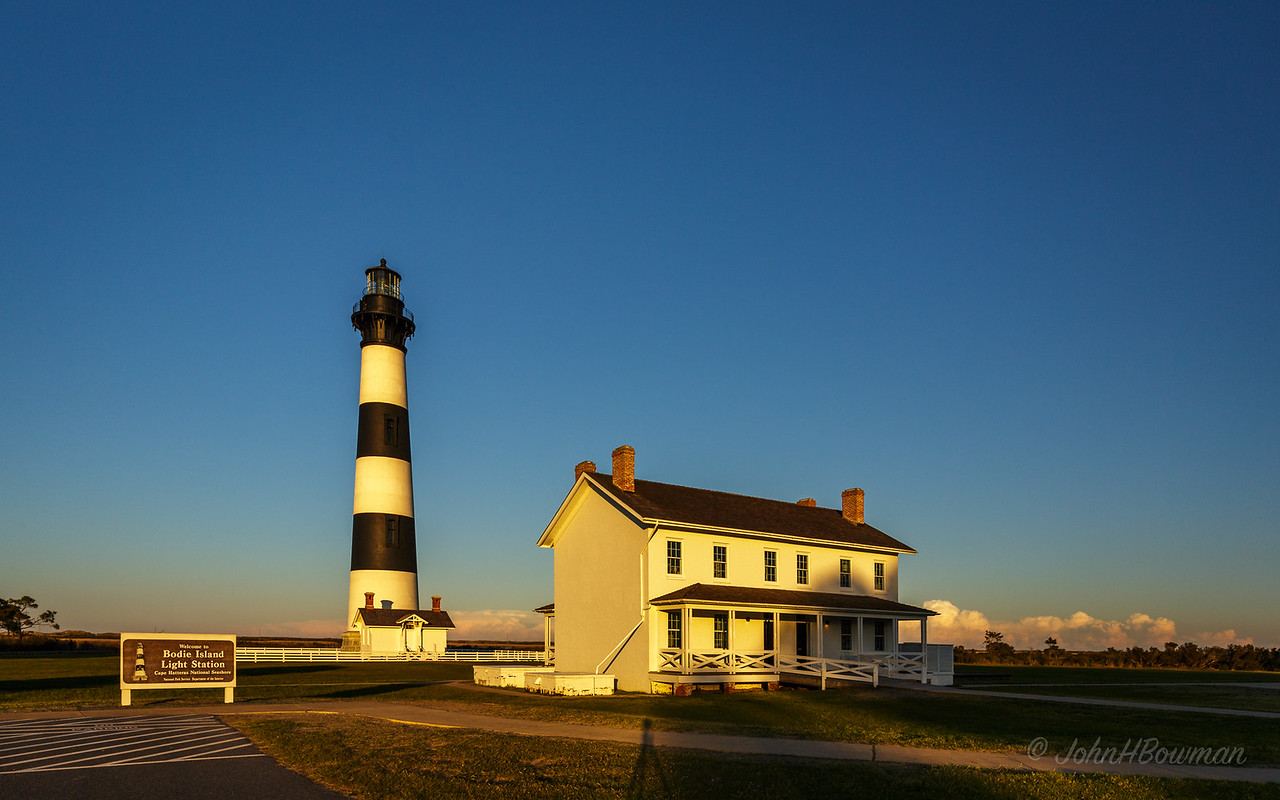 Bodie Island Lighthouse & Keeper's House/Visitor Center (NC)