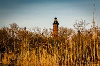 Currituck Beach Lighthouse - from Boardwalk, Sound side (NC)