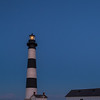 Bodie Island Lighthouse - Light in Tower at Dusk (NC)