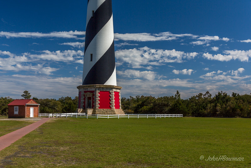 Cape Hatteras Lighthouse - Base & Shed (NC)