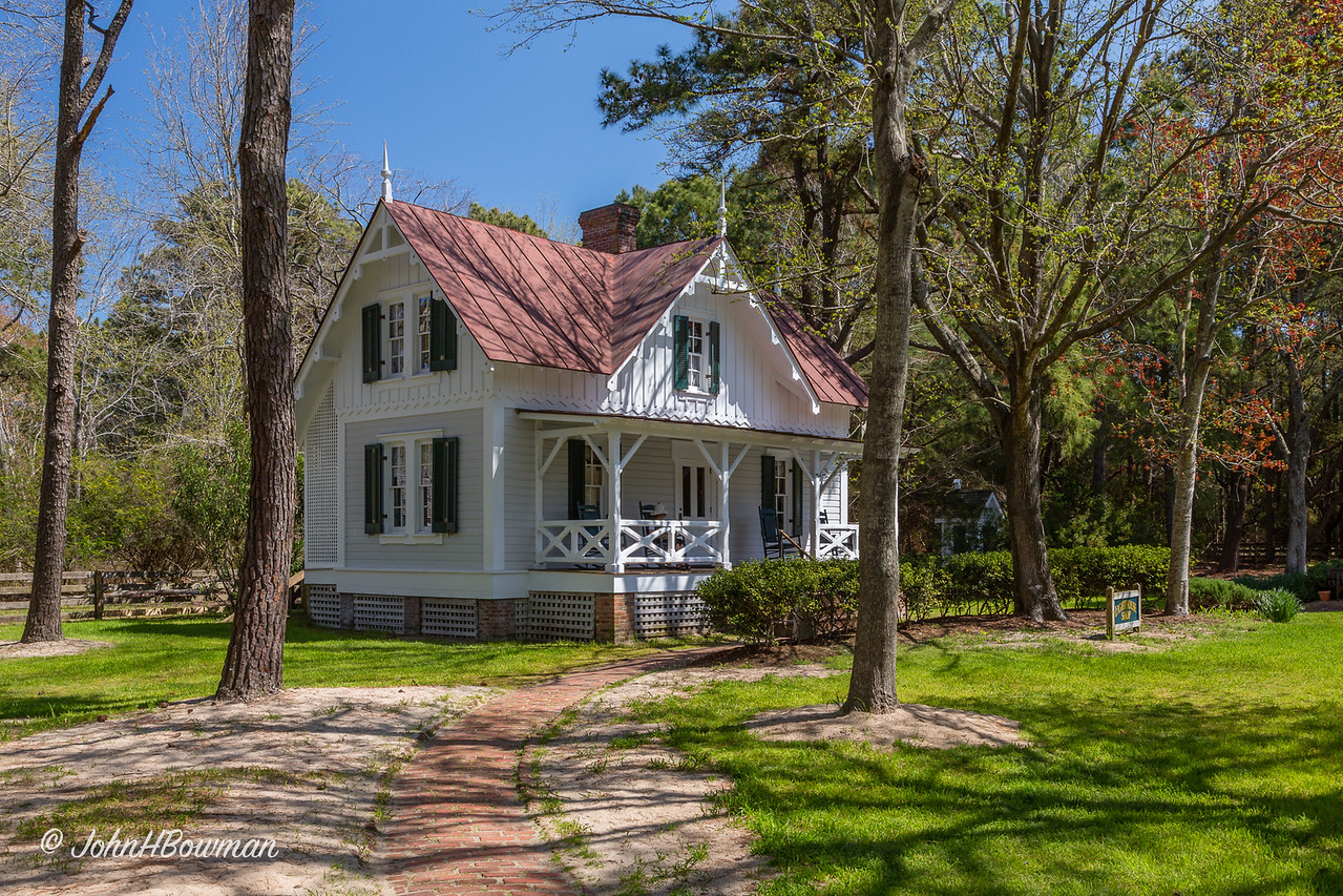Currituck Beach Light Station - House for Third Keeper (NC)