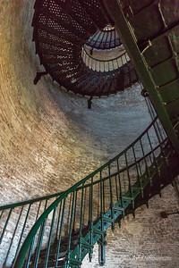 Interior, Currituck Beach Lighthouse (NC)
