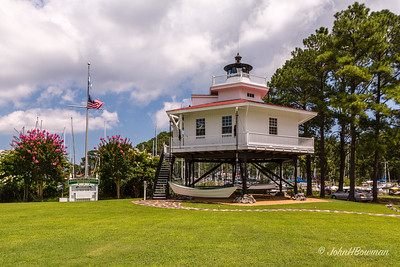 Stingray Point Lighthouse (VA; replica)