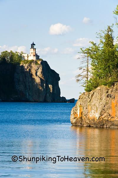 Split Rock Lighthouse and Ellingson Island, Lake County, Minnesota