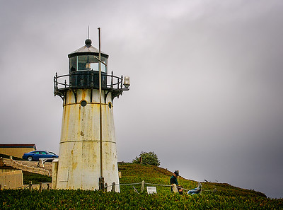 The Montara Lighthouse looks out over Half Moon Bay