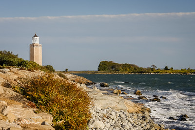 Avery Point Lighthouse - Last Lighthouse Built in Connecticut