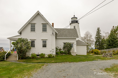 Dyce Head Lighthouse, Street View - Castine, ME