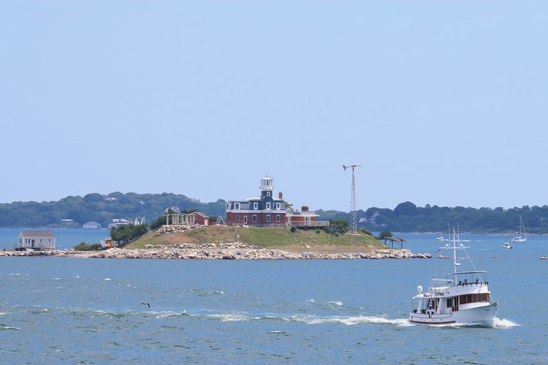 North Dumpling Light - Fishers Island Sound