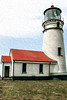 Cape Blanco Lighthouse (Oil Paint)