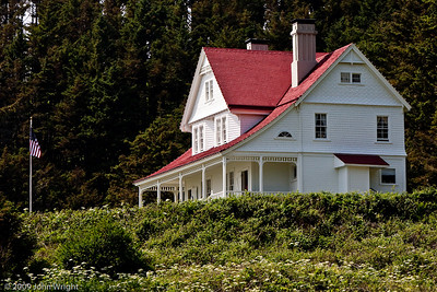Keepers house at Heceta Head.  I want to live here...