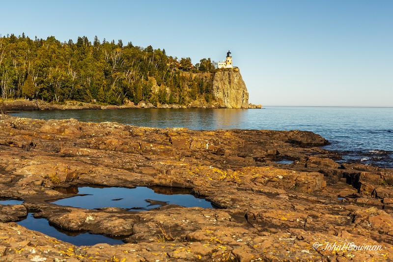 Split Rock Lighthouse (MN) - from lake level
