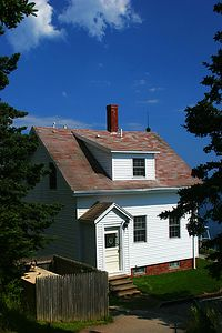 Keeper's House, Bass Harbor Light, Mt. Desert Island, Maine