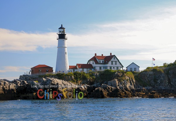 Portland Head Light - View from the Water