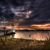 """Palmer's Island at Sunrise""<br /> October 29th, 2011<br /> New Bedford, MA"