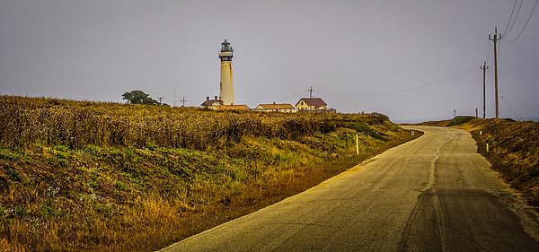 Pidgeon Point Lighthouse near Pescadero