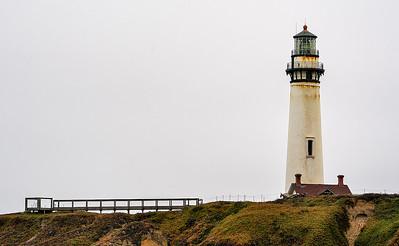 The Pidgeon Point Lighthouse near Pescadero