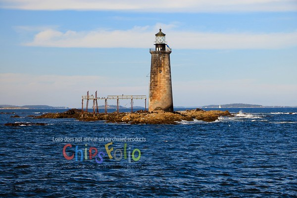 Ram Island Ledge Light Up Close I