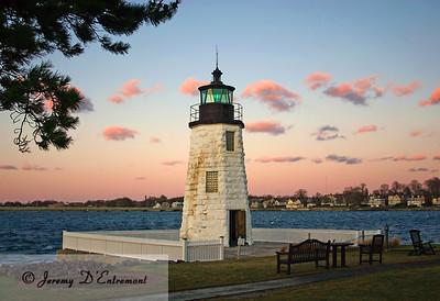 Newport Harbor Lighthouse