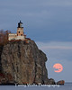 Moonrise at Split Rock Lighthouse