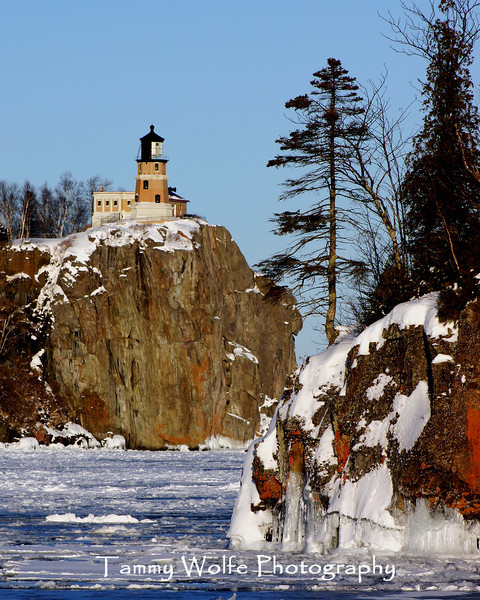 Split Rock Lighthouse, February 2004