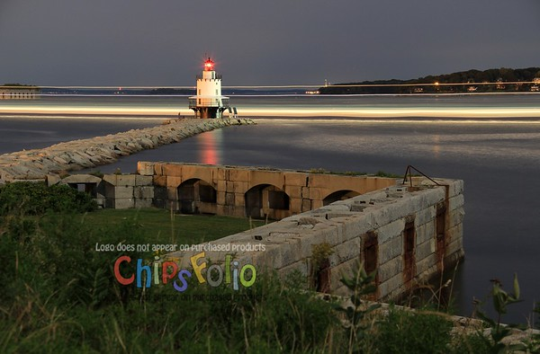 Night-time at Spring Point Ledge Light  (#2)