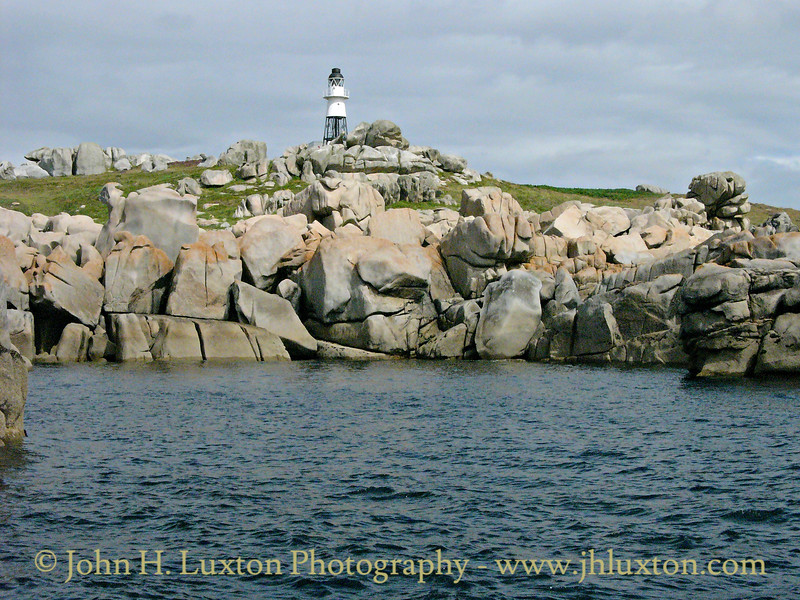 Peninnis Head Lighthouse, Isles of Scilly - July  31, 2005