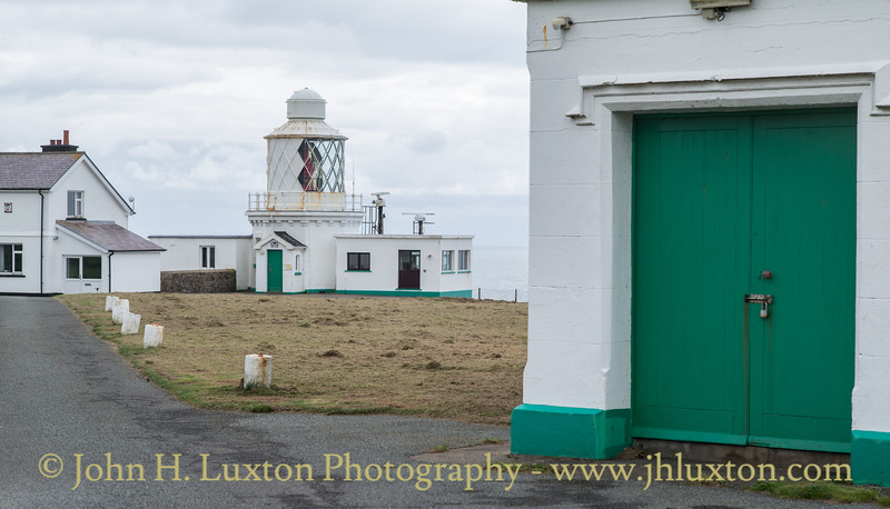St Ann's Head Lighthouse, Pembrokeshire, Wales - August 23, 2018