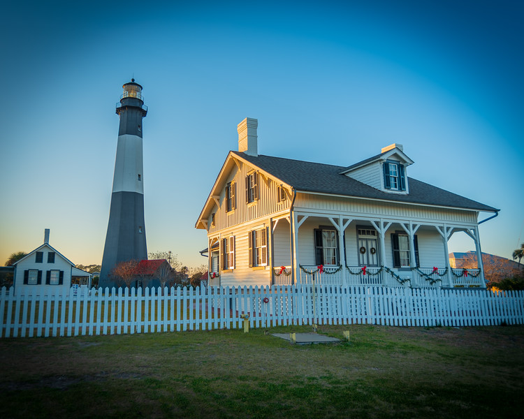 Lighthouse in the Blue Hour
