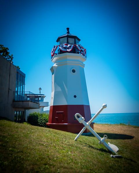 The Vermillion Lighthouse